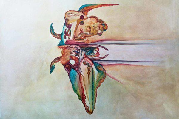 Genius Loci 2015 Oil on Canvas 140cmx100cm