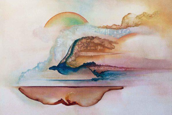 Inferno, Purgatorio e Paradiso 2016 Oil on canvas100x80cm