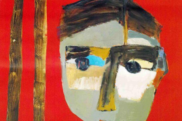 Semaan Khawam_Birdman (massacre in Syria). 2017_Oil on canvas, 75×56,5 cm