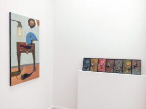 Exhibition view: Freedom ° Love